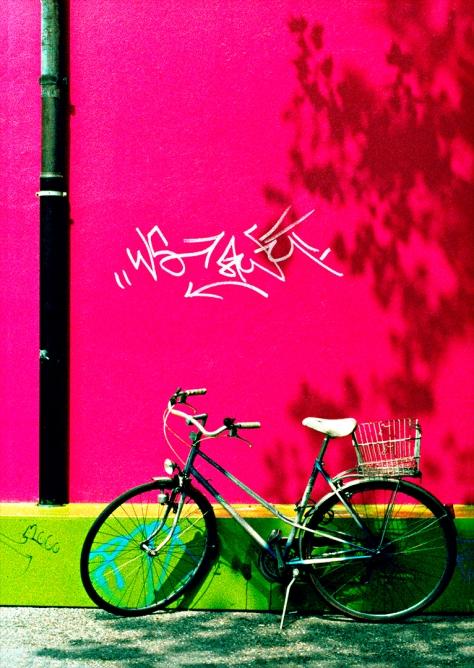 Basel 2000 Kunsthalle Fahrrad Postkarte Kopie