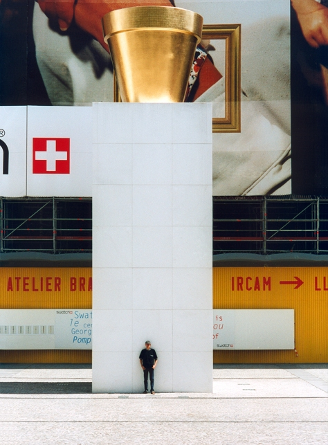 Paris Centre Pompidou Selbstportrait Druckversion Kopie