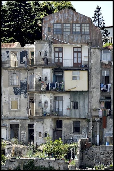 Porto 2011 Fassade in Altstadt Kopie