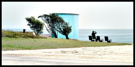 Porto 2011 Mann am Meer Druck 2011_06_23 Kopie