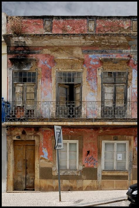 Portugal 2011 Mertola Rosa Fassade Kopie